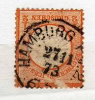 Empire - Deutsches Reich - YT No 15 - 1/2 Gr - Mauvais Etat - Allemagne