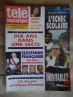 TELE MOUSTIQUE N°3612 20/04/1995 CESARIA EVORA / SECTE - Journaux - Quotidiens
