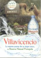 VILLAVICENCIO RESERVA NATURAL PROTEGIDA PROVINCIA DE MENDOZA ARGENTINA AGUA MINERAL - Recepten (kook)