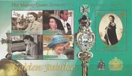 South Georgia 2002 - 50 Ans De Réigne Reine Elisabeth II // Golden Jubilée - BF Neufs*** (MNH) - Géorgie Du Sud