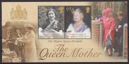 South Georgia 2002 - Hommage A La Reine Mere 1900-2002 - BF Neufs*** (MNH) - Géorgie Du Sud