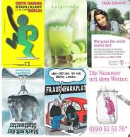 Telefonkarten / Lot Mit 6  TK   Gebraucht  (7) - Télécartes