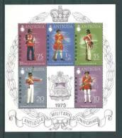 Barbuda:  BF 2 ** Uniformes Militaires - Antigua Et Barbuda (1981-...)