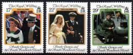 South Georgia 1986 - Mariage Du Prince Andrew. - 3v Neufs*** (MNH) - Géorgie Du Sud