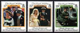 South Georgia 1986 - Mariage Du Prince Andrew. - 3v Neufs*** (MNH) - Georgia Del Sud