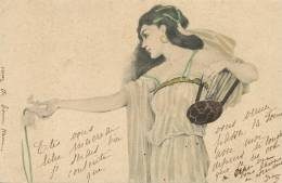 Kirchner Femme A L´ Iris MM Vienne 1901 Art Nouveau - Kirchner, Raphael