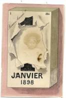 PHOTO MONTAGE 1ER JANVIER 1898 . LE FILS - Other