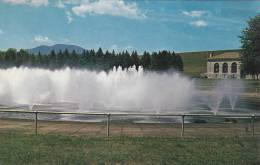 USA  NEW YORK    Aerating The Water Asohan Reservoir  Caskill - Catskills