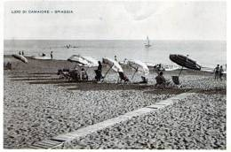 "Cartolina  D´epoca        ""   Lido Di Camaiore - Spiaggia  "" - Lucca"