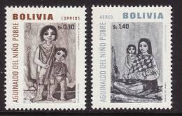 Bolivia #479, C258 F-VF Mint NH ** Children - Childhood & Youth