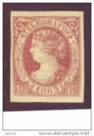 ESTGF7-3121TO.España Spain Espagne TELEGRAFOS .ISABEL Ll.1865 (Ed T7*) LUJO CERTIFICADO COMEX . - Otros