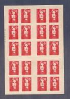 France, 2874-C9, Numéroté, Carnet Neuf, Non Plié, TTB, Carnet DAB, Carnet Marianne De Briat - Carnets