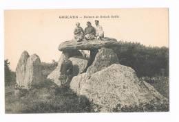 Goulven Dolmen De Gréach Gallie - Frankrijk