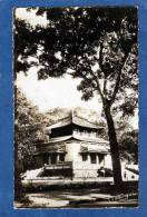 VIETNAM SAIGON COCHINCHINE LA PAGODE DU JARDIN BOTANIQUE CARTE PHOTO DENTELEE RARE - Viêt-Nam