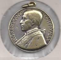 NL.- Sleutelhanger - Pius XII Romanus Pontifex-Max - Petrus En Paulus. Italy Vatican Pius XII, Pope Pius XII. 2 Scans - Godsdienst & Esoterisme