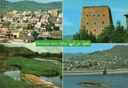 LA MECQUE-GREETINGS FROM ABHA - Arabie Saoudite