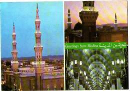 LA MECQUE-GREETINGS FROM MEDINA - Arabie Saoudite