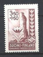 Finlande 1944 N° 277 Neufs ** Surtaxe Secours National - Ungebraucht