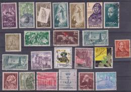 Lote De Sellos Usados / Lot Of Used Stamps  FRANCO / ESTADO ESPAÑOL  VARIOS   S-1344 - 1931-Hoy: 2ª República - ... Juan Carlos I