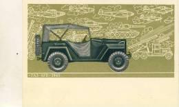 AUTO OLD GAZ-67 B.1943 - Camion, Tir