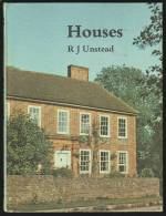 """""""Houses""""  By  R J Unstead.  (Year 8?). - Architecture/ Design"""