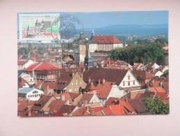 CARTE MAXIMUM MAXIMUM CARD MONTBELIARD FRANCE - Cartoline Maximum