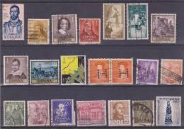 Lote De Sellos Usados / Lot Of Used Stamps  FRANCO / ESTADO ESPAÑOL  VARIOS   S-1348 - 1931-Hoy: 2ª República - ... Juan Carlos I