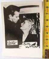 BETTY HUTTON-CHARLTON HESTON / CINEMA PHOTO - Albums & Collections