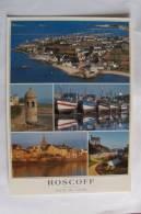 29 / Finistère - Roscoff - Vue Générale, La Tour Marie Stuart, Le Port, Le Clocher Et L'église Notre Dame Kroaz-Baz - Roscoff