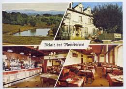 MONTARGIS De SEILHAC--Relais Des Monedières--Vues Diverses,cpm N° 3CP 84 6299 Photo Amelot Imp Combier - France
