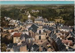 22 - Moncontour De Bretagne - En Avion Au-dessus - Vue Centrale - Editeur: Lapie N° 2K - Moncontour