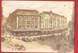 Q0294 Litho Magasins Bonnard Place St François à Lausanne, à L'occasion Du Comptoir Suisse 1950.non Circulé. - VD Waadt