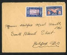 SPM  Lettre Pour Le Canada   Yv 128, 144 - Lettres & Documents