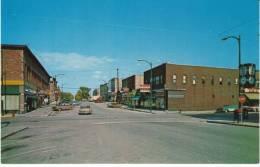 Munsing MI Michigan, Street Scene, Putvin Drug Store, Autos, C1960s Vintage Postcard - United States
