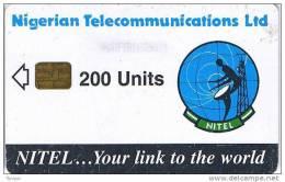 Nigeria, NGA-13, 200 Units, Earth Station, 2 Scans. - Nigeria