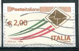 Italie 2009 - YT 3075 (o) Sur Fragment - 6. 1946-.. Repubblica