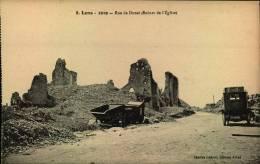 N°521  M  LENS RUE DE DOUAI RUINES DE L EGLISE - Lens