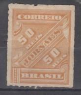 BRASIL  1889  50 Rs  MH  NO GUM - Brésil