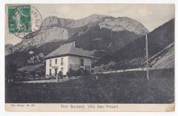 Petit Bornand - Villa Bon-Accueil - A Circulé En 1914 - Frankrijk