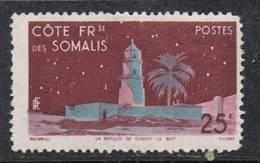 COTE DES SOMALIS N°282 N* - Côte Française Des Somalis (1894-1967)