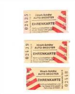 4 Fahrscheine Für Auto-Skooter Von Hirsch-Schäfer Aus Schwerte - Eintrittskarten