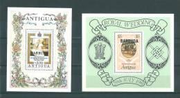Barbuda: BF 52 Et 57 ** - Antigua Et Barbuda (1981-...)
