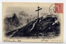 K20 - LA GRAVE - La MEIJE - Vue Prise Des PORTES (1904 - Croix ) - France