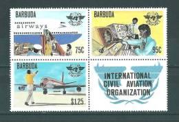 Barbuda: Timbres Du BF 42 Avec Vignette ** - Antigua Et Barbuda (1981-...)