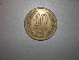 Chile  10 Pesos 1982 (3770) - Chile