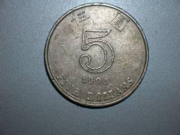 Hong Kong 5 Dólares 1993 (3779) - Hong Kong