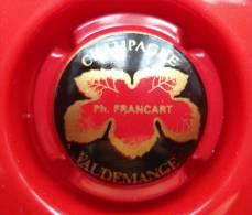 CAPSULE DE CHAMPAGNE FRANCART Ph. Rouge Inscription Or - Non Classificati