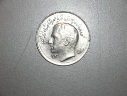 Iran 1 Rial 1353/1974, Variante Año Trazo Grueso (3786) - Irán