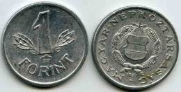 Hongrie Hungary 1 Forint 1987 KM 575 - Hongrie