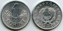 Hongrie Hungary 1 Forint 1988 KM 575 - Hongrie